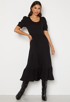 ONLY May Life S/S Puff Dress Black Bubbleroom.se