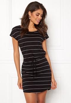 ONLY May S/S Dress Black Stripes Bubbleroom.se