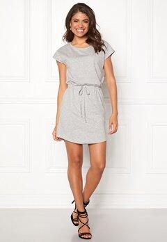 ONLY May S/S Dress Light grey melange Bubbleroom.fi
