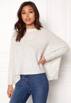ONLY Meredith Pullover Knit White Bubbleroom.no