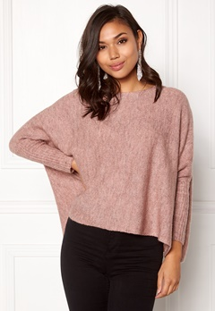 ONLY Meredith Pullover Knit Withered Rose Bubbleroom.se
