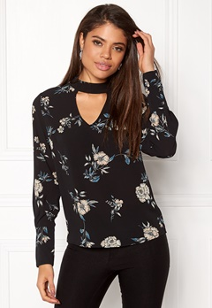 ONLY Mesa Lux Choker Top Black Bubbleroom.eu