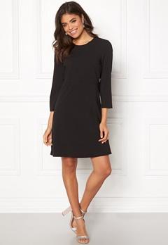 ONLY Michelle 7/8 Short Dress Black Bubbleroom.se