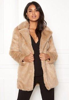 ONLY Milana Faux Fur Coat Pure Cashmere Bubbleroom.se