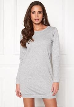 Jacqueline de Yong Miley Dress Light Grey Melange Bubbleroom.fi