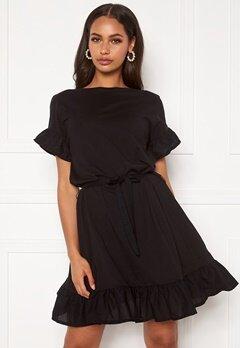 ONLY Mitza Life S/S Dress Black Bubbleroom.se