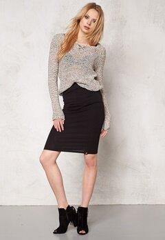 ONLY Moon l/s Pullover knit Cloud Dancer Bubbleroom.se