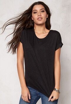 ONLY Moster s/s Top Black Bubbleroom.se
