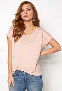 ONLY Moster s/s Top Peach Whip Bubbleroom.fi