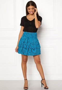 ONLY Muni Mini Skirt Brilliant Blue Bubbleroom.se