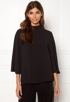 ONLY Myrina Bell Sleeve Top Black Bubbleroom.se
