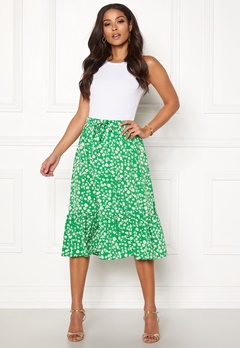 ONLY Nadja Skirt Simply Green Bubbleroom.se