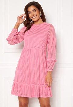 ONLY Naja L/S Baloon Dress Sachet Pink Bubbleroom.se