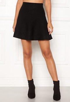 ONLY New Dallas Skirt Black Bubbleroom.se
