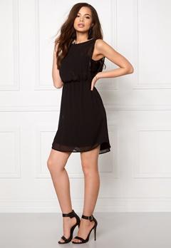 ONLY New Hiro S/L Dress Black Bubbleroom.no