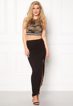 ONLY New Ria Skirt Black Bubbleroom.fi