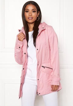 ONLY New Sophia Spring Parka Rose Smoke Bubbleroom.se