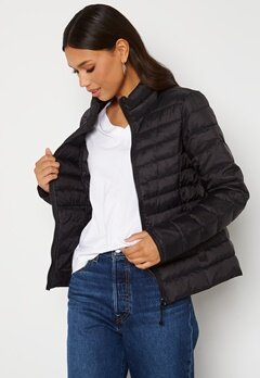 ONLY Newtahoe Quilted Jacket Black Bubbleroom.se