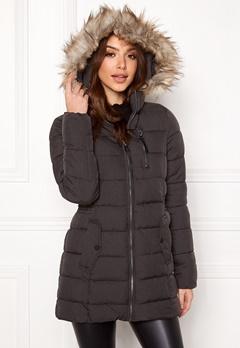 ONLY North Nylon Coat Black Bubbleroom.se