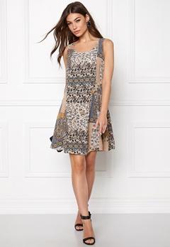 ONLY Nova Boarder Lux Dress Whisper White/Print Bubbleroom.no