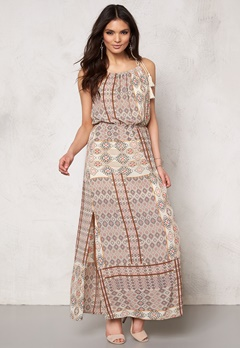 ONLY Nova lux desert dress Bone White Bubbleroom.dk