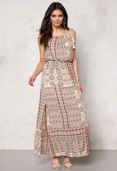 ONLY Nova lux desert dress Bone White Bubbleroom.fi
