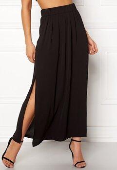 ONLY Nova Lux Maxi Skirt Solid Black Bubbleroom.se