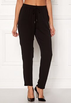 ONLY Nova Lux Pant Solid Black Bubbleroom.se