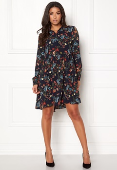 ONLY Nova Lux Shirt Dress Night Sky Bubbleroom.se