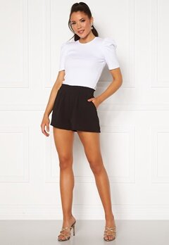 ONLY Nova Lux Smock Shorts Black Bubbleroom.se
