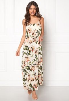 ONLY Nova Lux Strap Maxi Dress Peyote Bubbleroom.se