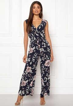 ONLY Nova Lux Wrap Jumpsuit Night Sky Bubbleroom.se