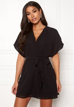 ONLY Paige Life SS Playsuit Black Bubbleroom.se
