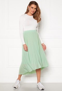 ONLY Paradise Pleated Skirt Aqua Foam Bubbleroom.se