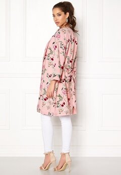 ONLY Paris 7/8 Midi Kimono Strawberry Cream Bubbleroom.se