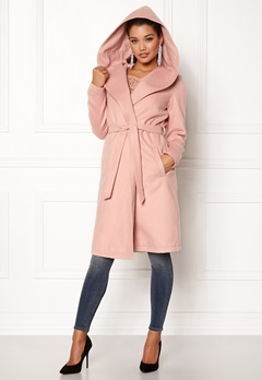 ONLY phoebe hooded coat cc cameo Bubbleroom.dk