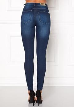 ONLY Piper HW Skinny Jeans Medium Blue Denim Bubbleroom.fi
