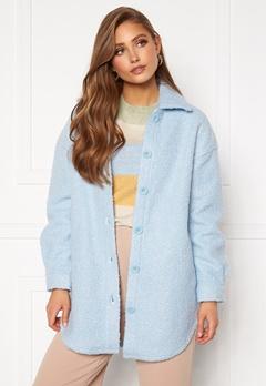 ONLY Piper Shacket Cashmere Blue Bubbleroom.se
