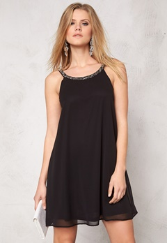 ONLY Piper Short Strap Dress Black Bubbleroom.se