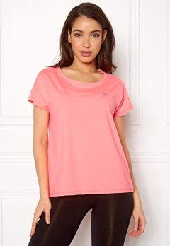 ONLY PLAY Aubree SS Loose Tee Lipstick Pink Bubbleroom.fi
