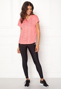 ONLY PLAY Beate Loose SS Tee Lipstick Pink Bubbleroom.fi
