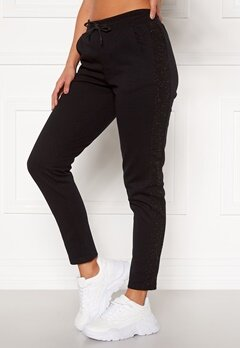 ONLY PLAY Bellatrix Glitter Sweat Pants Black Bubbleroom.se