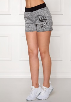 ONLY PLAY Cristal Sweat Shorts Medium Grey Melange Bubbleroom.no