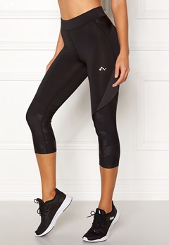 ONLY PLAY Delphine 3/4 Training Tights Black Bubbleroom.se
