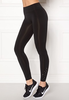 ONLY PLAY Everdeen Seamless Tights Black Bubbleroom.se