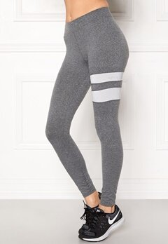 ONLY PLAY Fanny Training Tights Medium Grey Melange Bubbleroom.eu