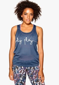 ONLY PLAY Giselle Mesh Tank Ensign Blue Bubbleroom.se