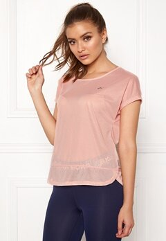 ONLY PLAY Jasmin Training Loose Tee Silver Pink Bubbleroom.se