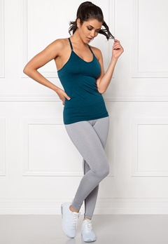 ONLY PLAY Jewel Seamless Top Majolica Blue Bubbleroom.fi