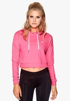 ONLY PLAY Lavina Cropped Sweat Flou Pink Bubbleroom.se